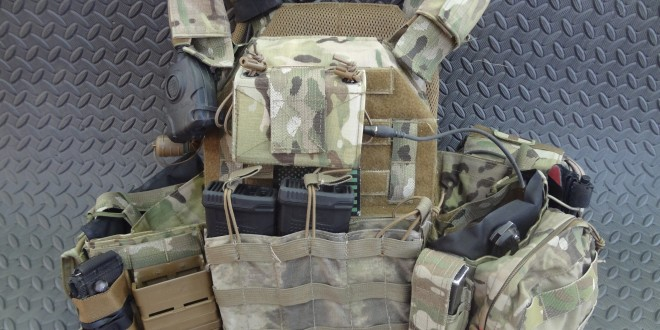 ATS Tactical Gear KDU Pouch For Your Tactical Armor Plate Carrier: Don't Run Your Tactical Comms (Combat/Tactical Radio) without It!