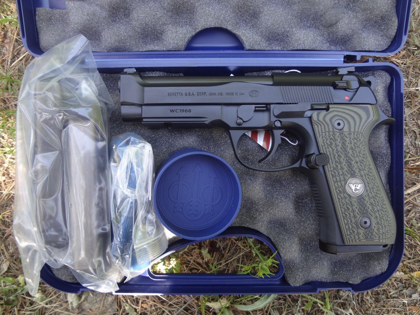 Beretta/Wilson Combat 92G Brigadier Tactical 9mm Semi-Auto