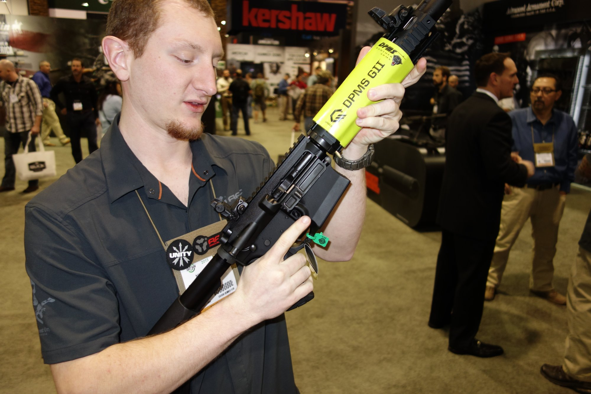 Dpms Panther Arms Gii Recon 308 Msr Nato Win Tactical Ar Rifle Carbine Shot Show David Crane Defensereview Com Dr Remington Hands On Review
