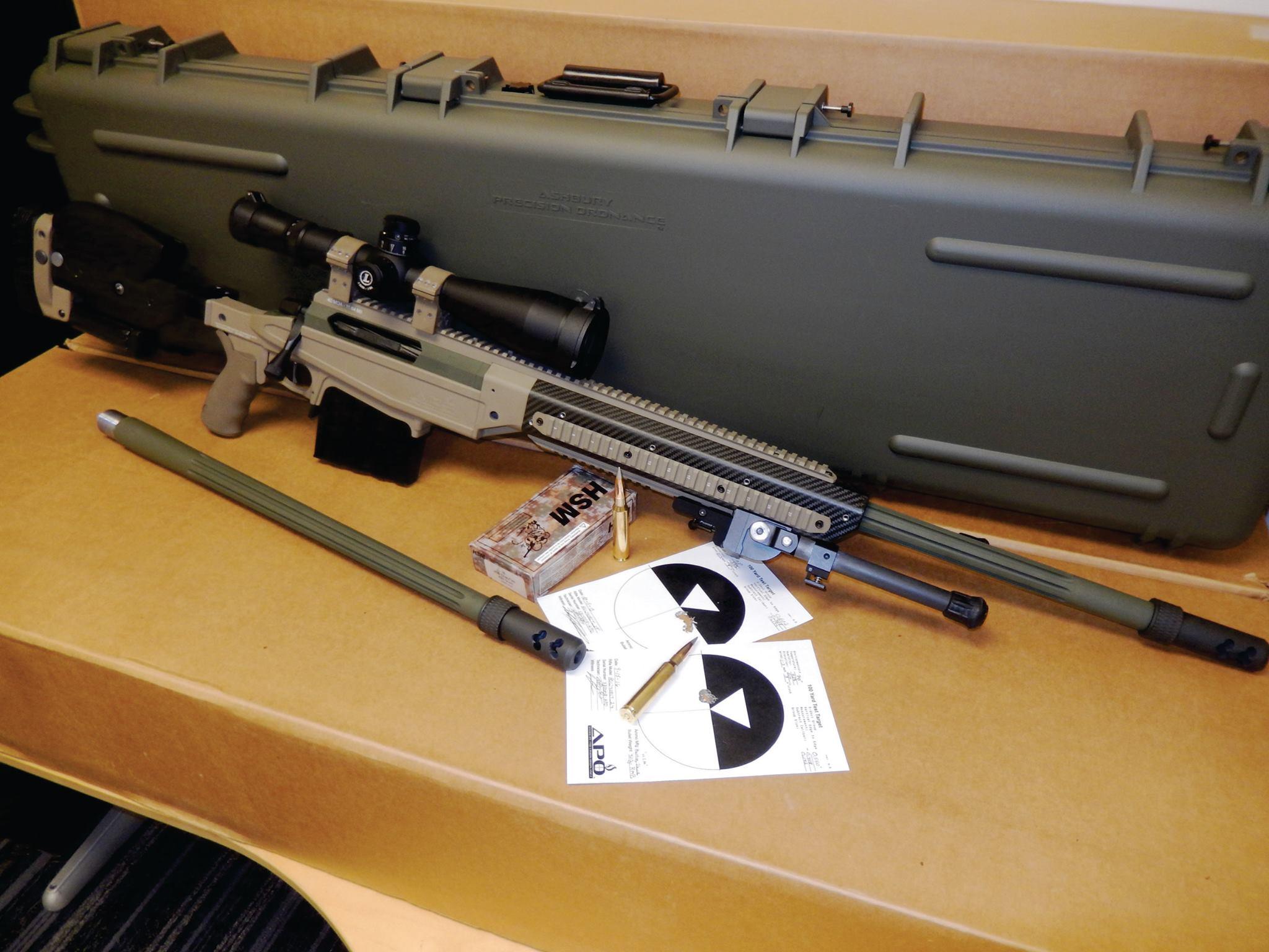 Ashbury Precision Ordnance Apo Super Magnum 408 Cheytac