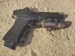 Nous_Defions_Arsenal_Democracy_Blackside_Glock_17_22_Combat_Tactical_Pistol_David_Pavlick_DefenseReview.com_(DR)_4