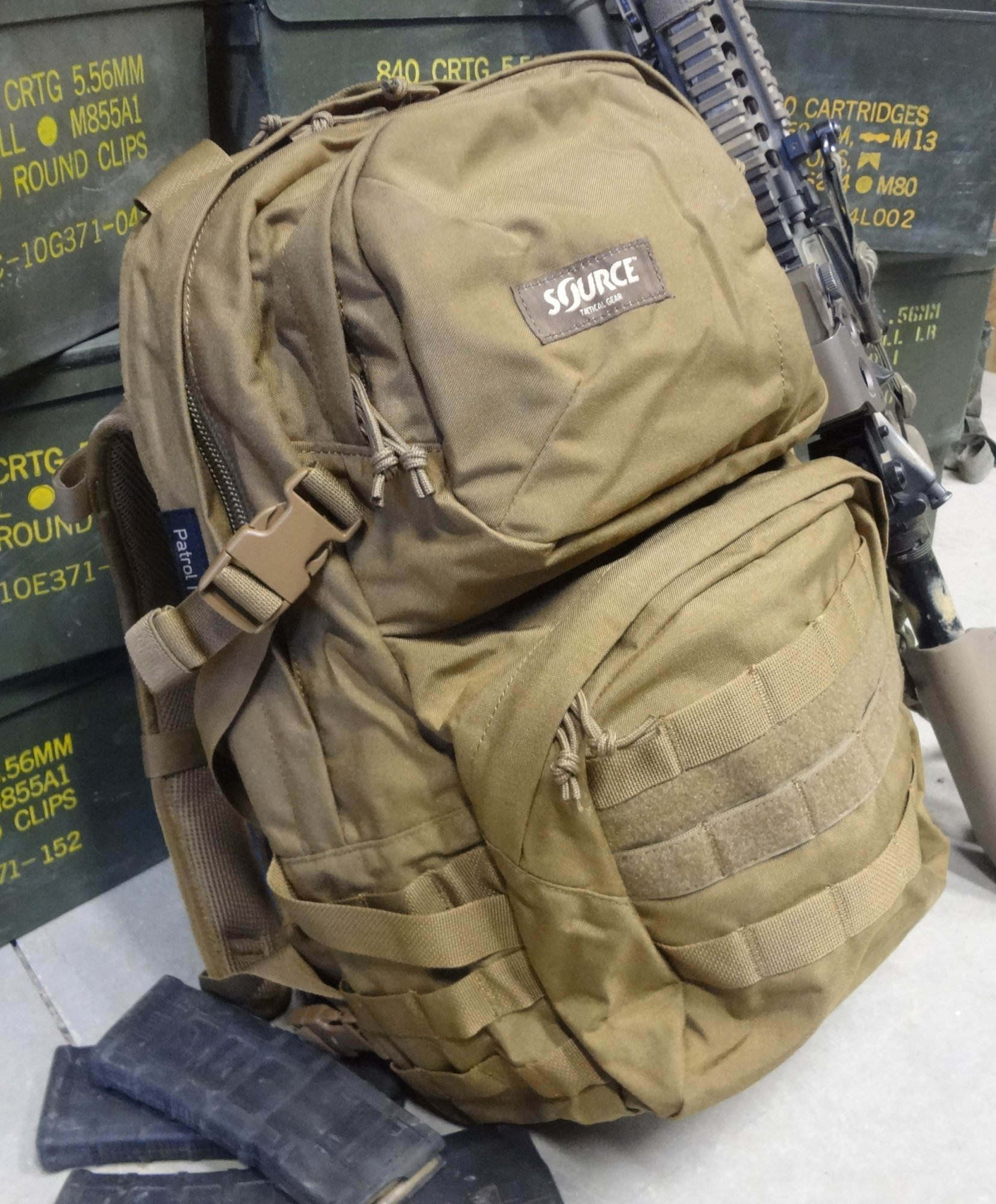 Tactical Backpack With Hydration System - CEAGESP
