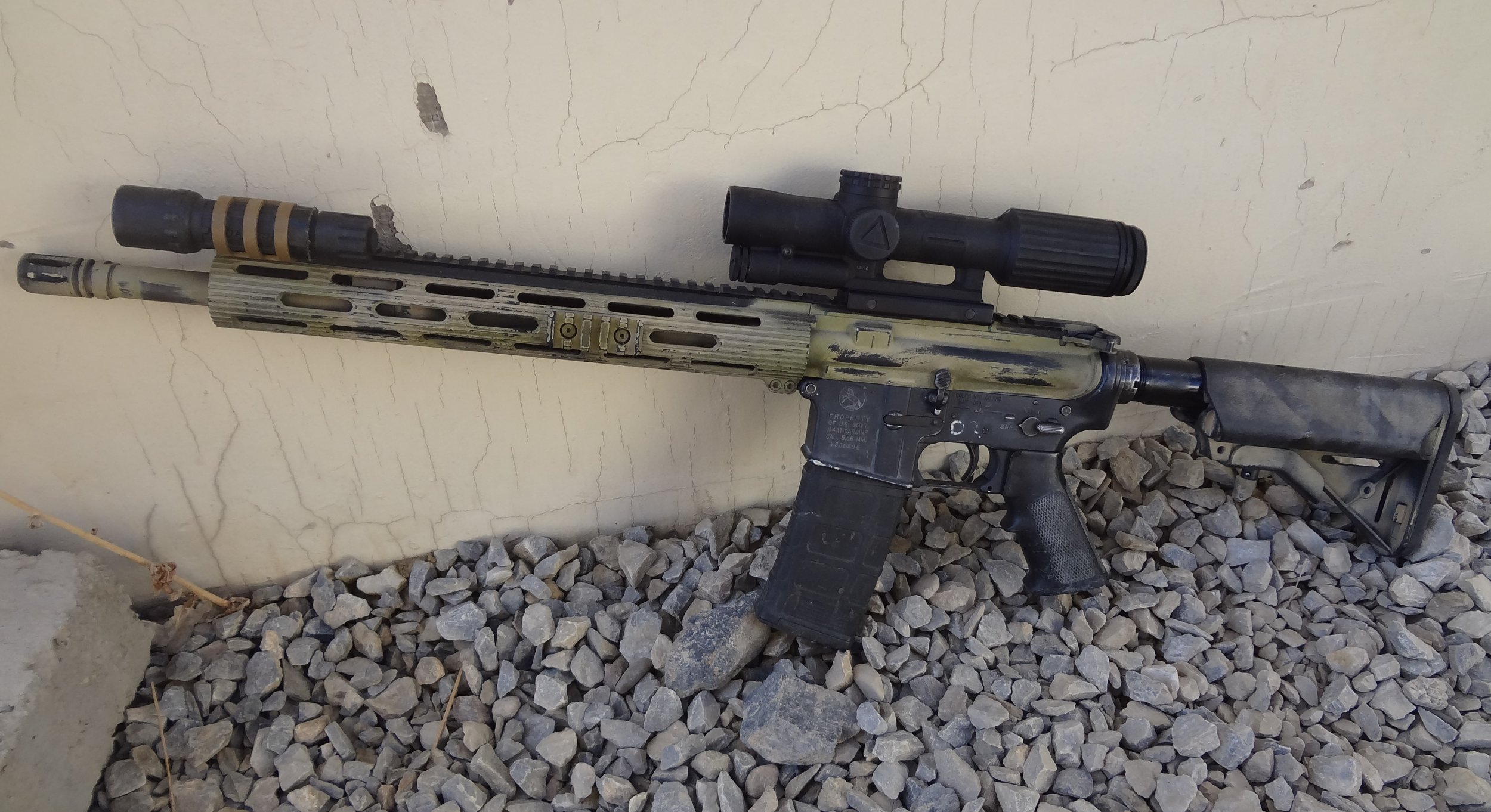 Tactical Ar 15m4m4a1 Carbine Aftermarket Accessories For Military