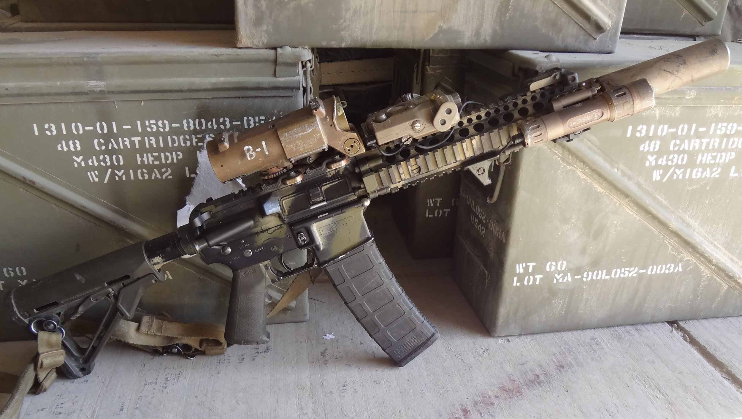 Tactical Ar 15 M4 M4a1 Carbine Aftermarket Accessories For