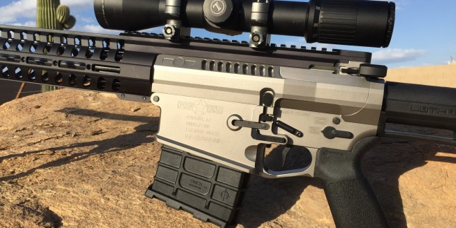 Patriot Ordnance Factory POF-USA P-300 (also written P300) .300 Win Mag (300WM) Tactical Piston AR Rifle/Carbine: SERIOUS Semi-Auto AR Hitting Power! (Video!)