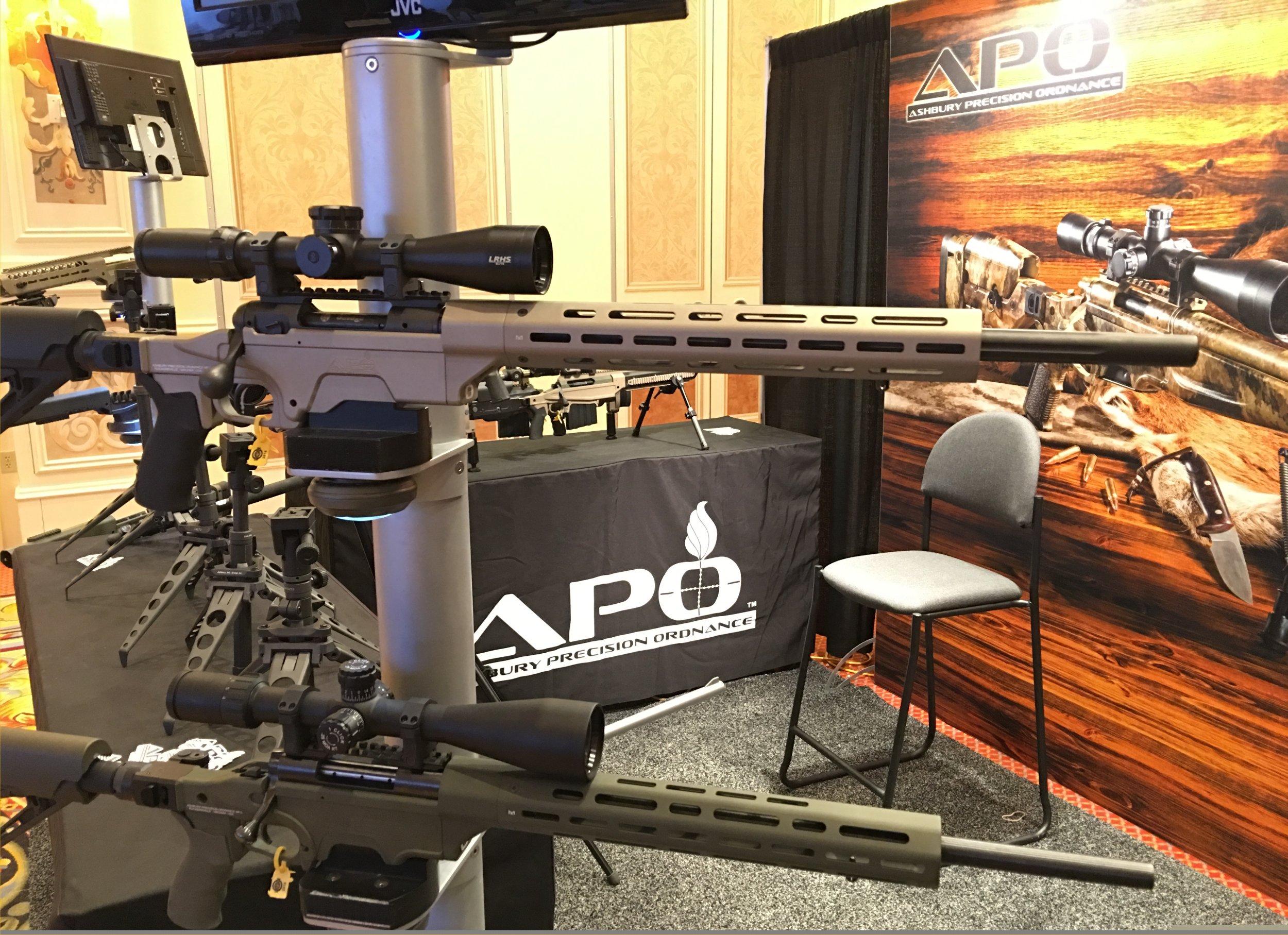 Ashbury Precision Ordnance APO SABER-FORSST MRCS-AR Savage 110 Bolt