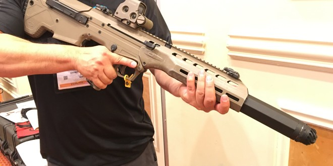 Integrally/Recessed-Suppressed Desert Tech DT MDR (Micro Dynamic Rifle) with Operators Suppressor Systems (OSS) Silencer/Sound Suppressor! (Video!)