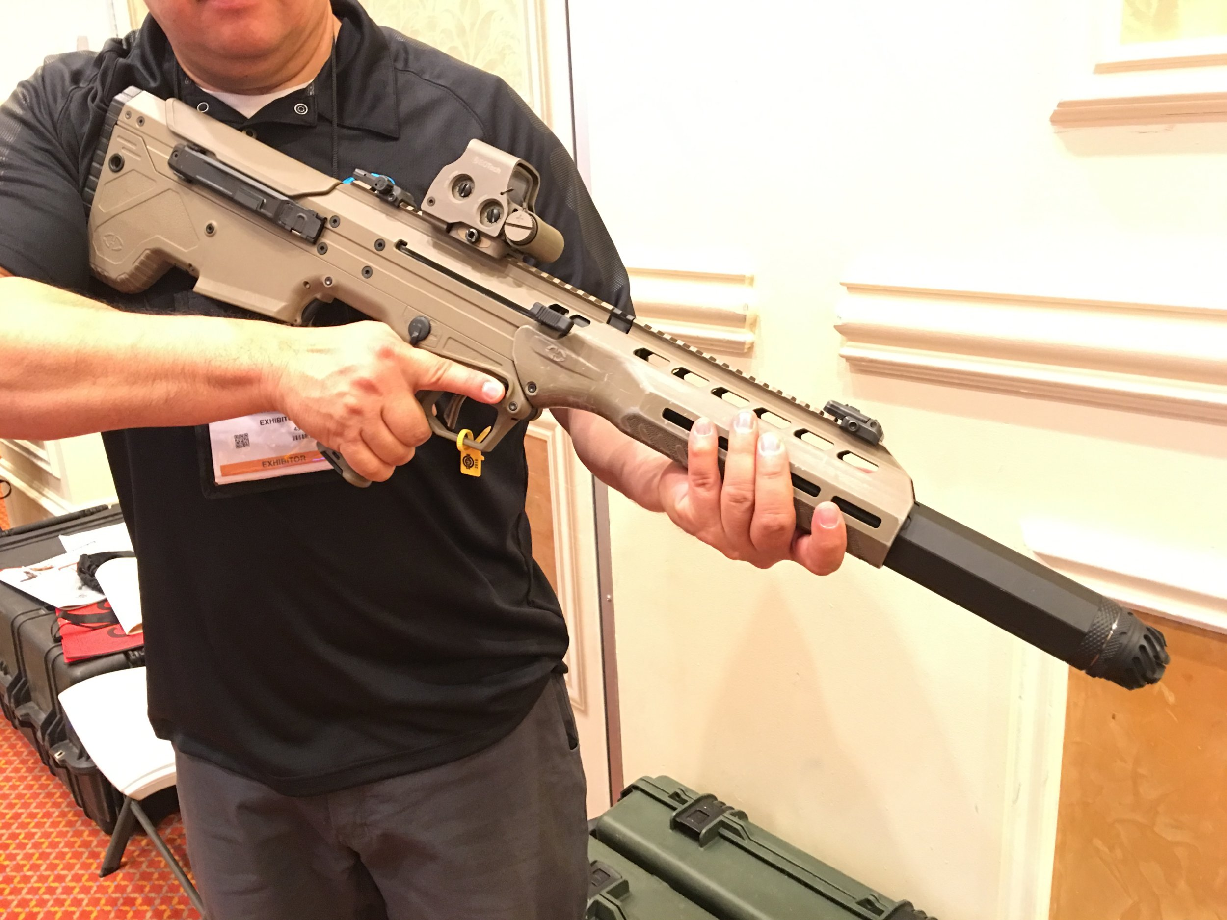 Gun review desert tactical arms stealth recon scout dta srs rifle - Integrally Recessed Suppressed Desert Tech Dt Mdr Micro Dynamic Rifle With Operators Suppressor Systems Oss Silencer Sound Suppressor Video