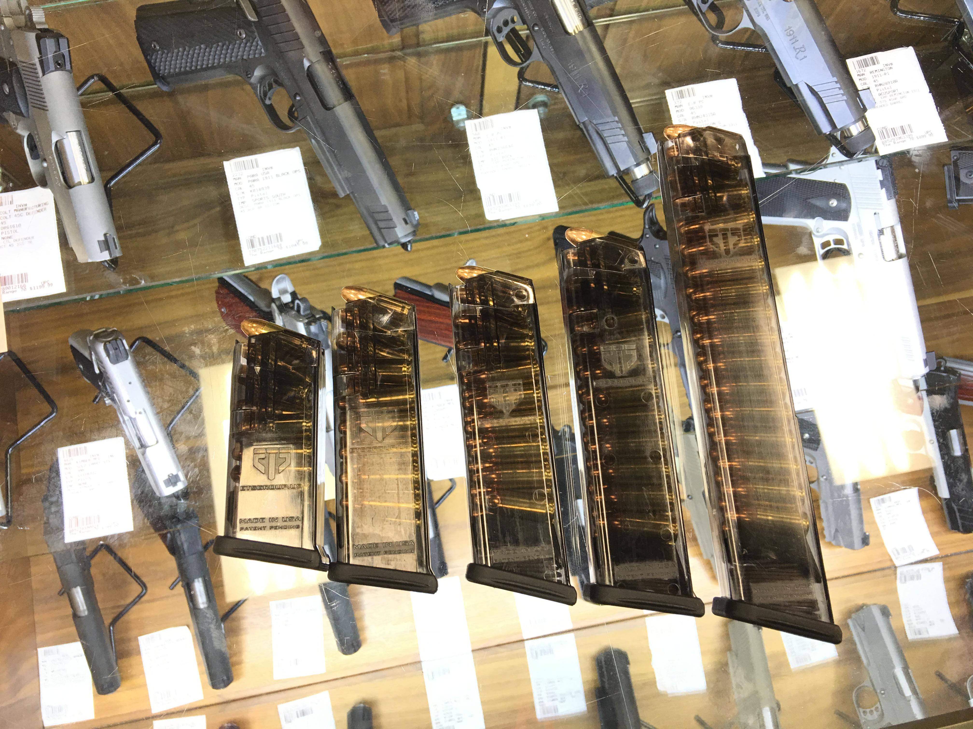 Elite Tactical Systems Ets Smoke Translucent Polymer Glock