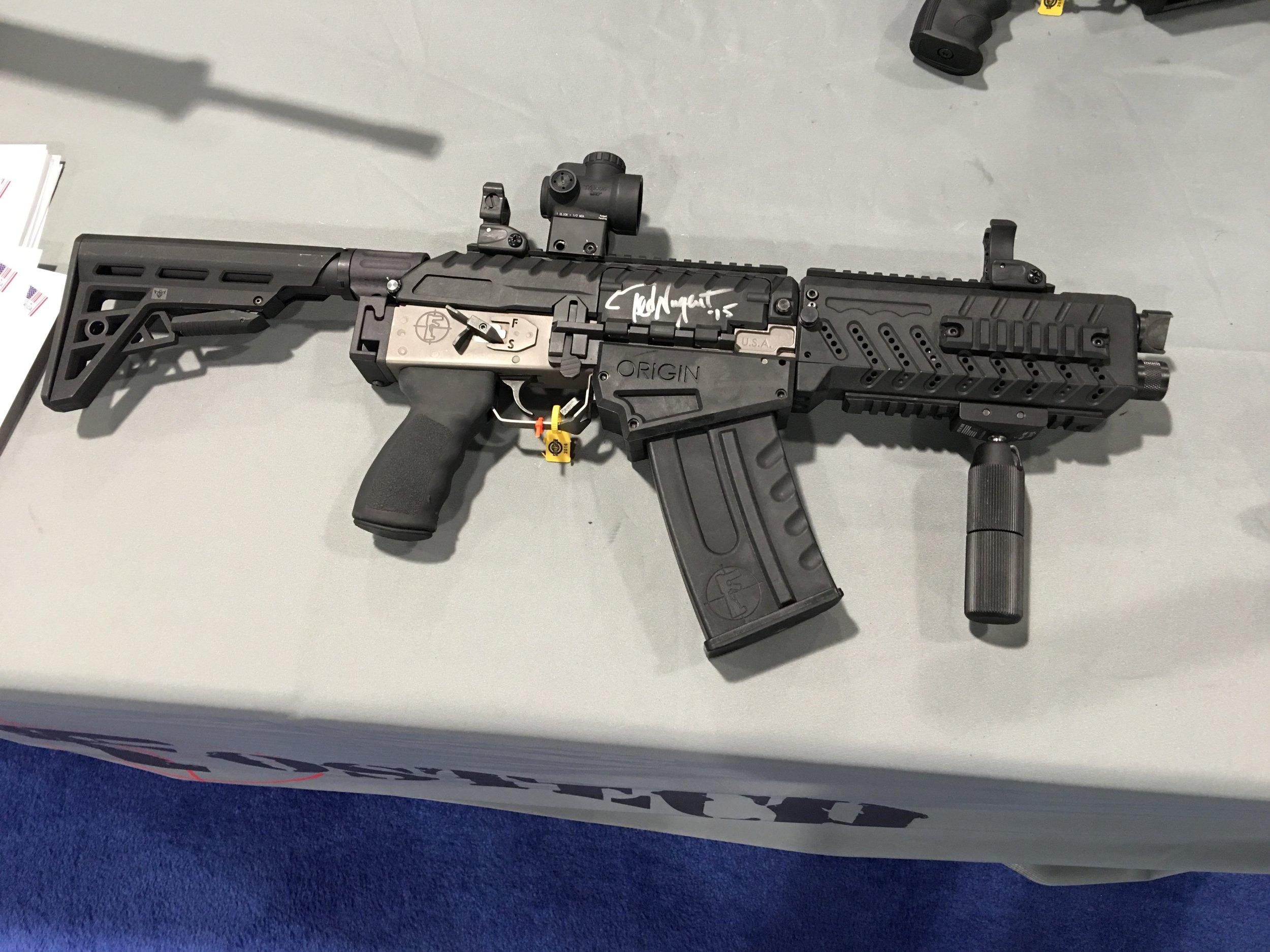 Fostech Origin-12 Mag-Fed Semi-Auto 12-Gauge Combat/Tactical