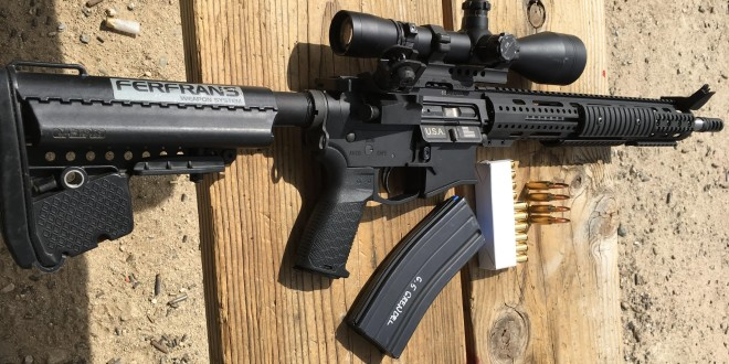 Ferfrans SOAR-P 6.5 Grendel Select-Fire/Full-Auto Tactical Piston AR (AR-15-type) Rifle/Carbine/SBR Prototype: Ultimate All-Purpose Tactical AR-15-Type Weapon System for Military Combat? (Video!)