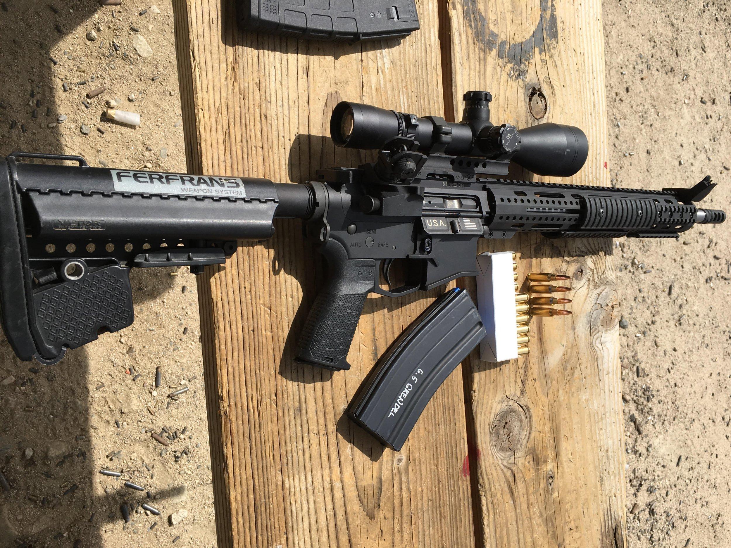 Ferfrans SOAR-P 6.5 Grendel Select-Fire/Full-Auto Tactical