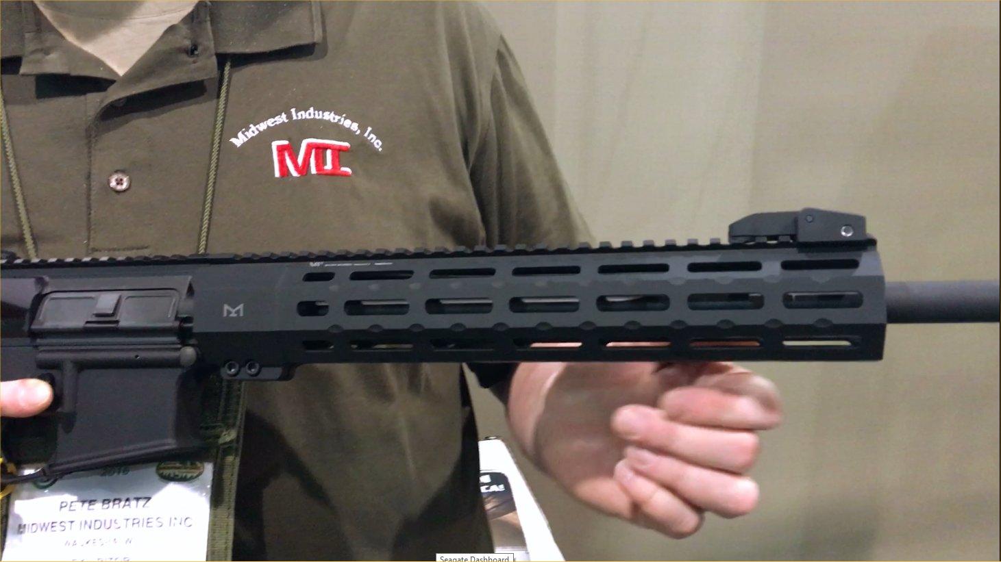 Midwest Industries MI SP-Series Free-Float Tactical AR-15 Handguard