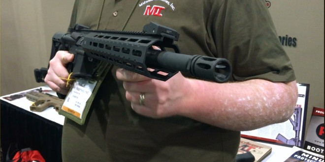 Midwest Industries MI SP-Series Free-Float Tactical AR-15 Handguard M-LOK Compatible Rail System for Integrally/Recessed-Suppressed Tactical AR-15 Carbine/SBR's! (Video!)