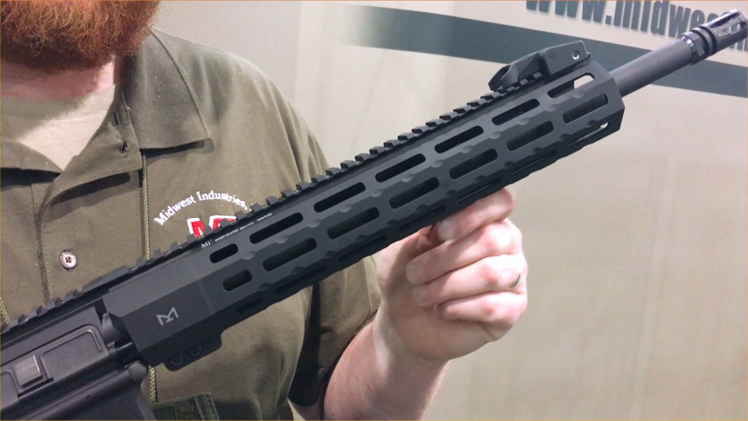 Midwest Industries MI SP-Series Free-Float Tactical AR-15 Handguard