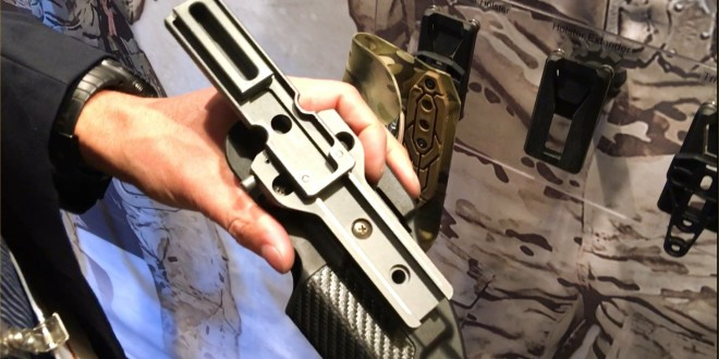 S&S Precision Holster Extender GRT (Gear Retention Track) for G-Code, Safariland and Blackhawk! Combat/Tactical Pistol Holsters (Video!)