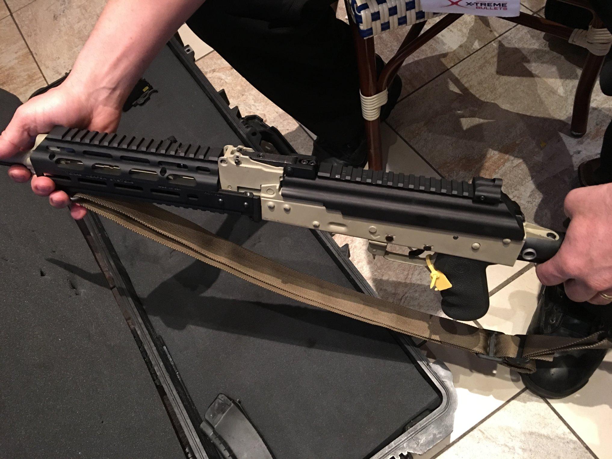 Texas Weapon Systems (TWS) Flip-Up Gen-3 Dog Leg Rail AK Top