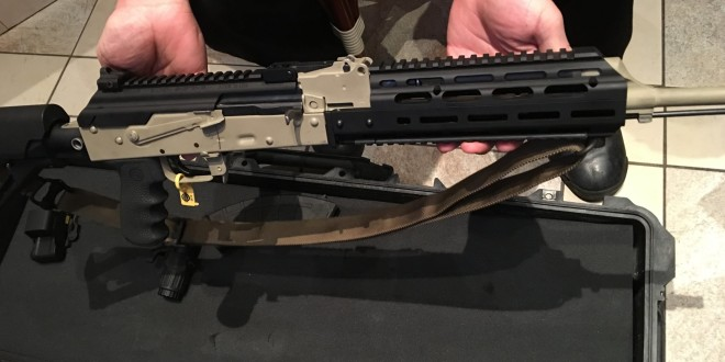 Texas Weapon Systems (TWS) Flip-Up Gen-3 Dog Leg Rail AK Top-Rail Cover and Gen-3 AK Tactical Hand Guard (M-LOK) System for Kalashnikov AK-47/AKM/AK-74 Rifle/Carbine/SBR's: Free-Floats the Barrel! (Video!)