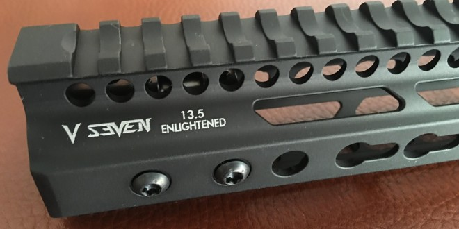 V Seven (V7) Weapon Systems Enlightened Tactical Handguard/Rail Systems: 'Magical' 2099 Lithium-Aluminum Alloy 'Most Advanced Aluminum on the Planet'!