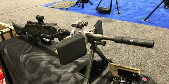 Tactical Revolution Rapid Barrel Change Rail System (RBCRS): Mount Your Laser Aimer/Laser Aiming Device on Machine Guns and other Crew-Served Weapons, and Keep that Laser Zeroed! (Video!)