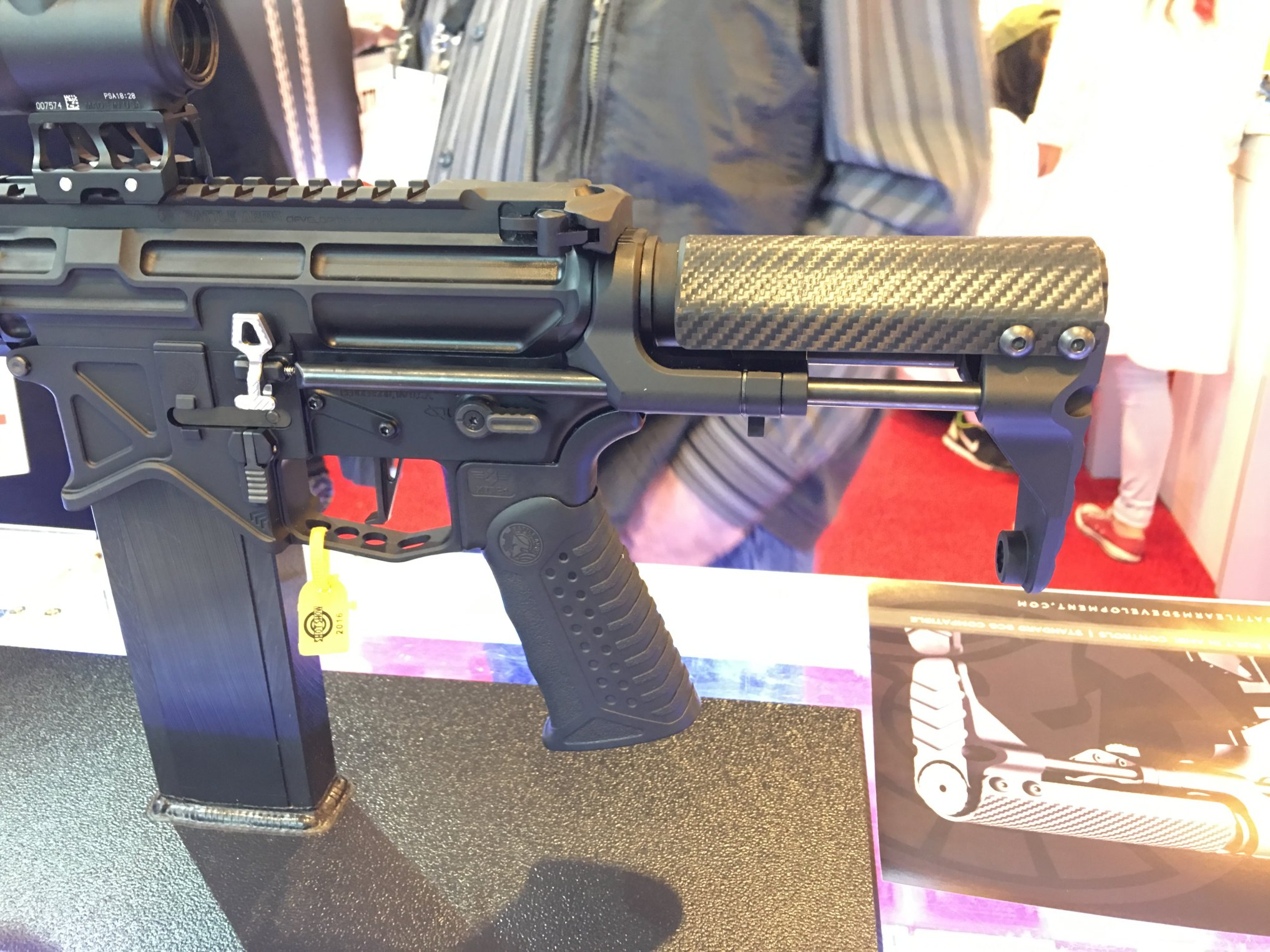 Battle Arms Development B A D -ASS Tactical AR-15 Carbine