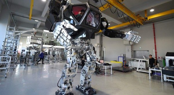 Korean Method-2 Giant Manned Bipedal Robot (GMBR) Exo-Bionic Exoskeleton for Future Warfare: Future Soldier/Warfighter Going 'Avatar'-Style with Armored, Armed/Weaponized and Camouflaged Variant?