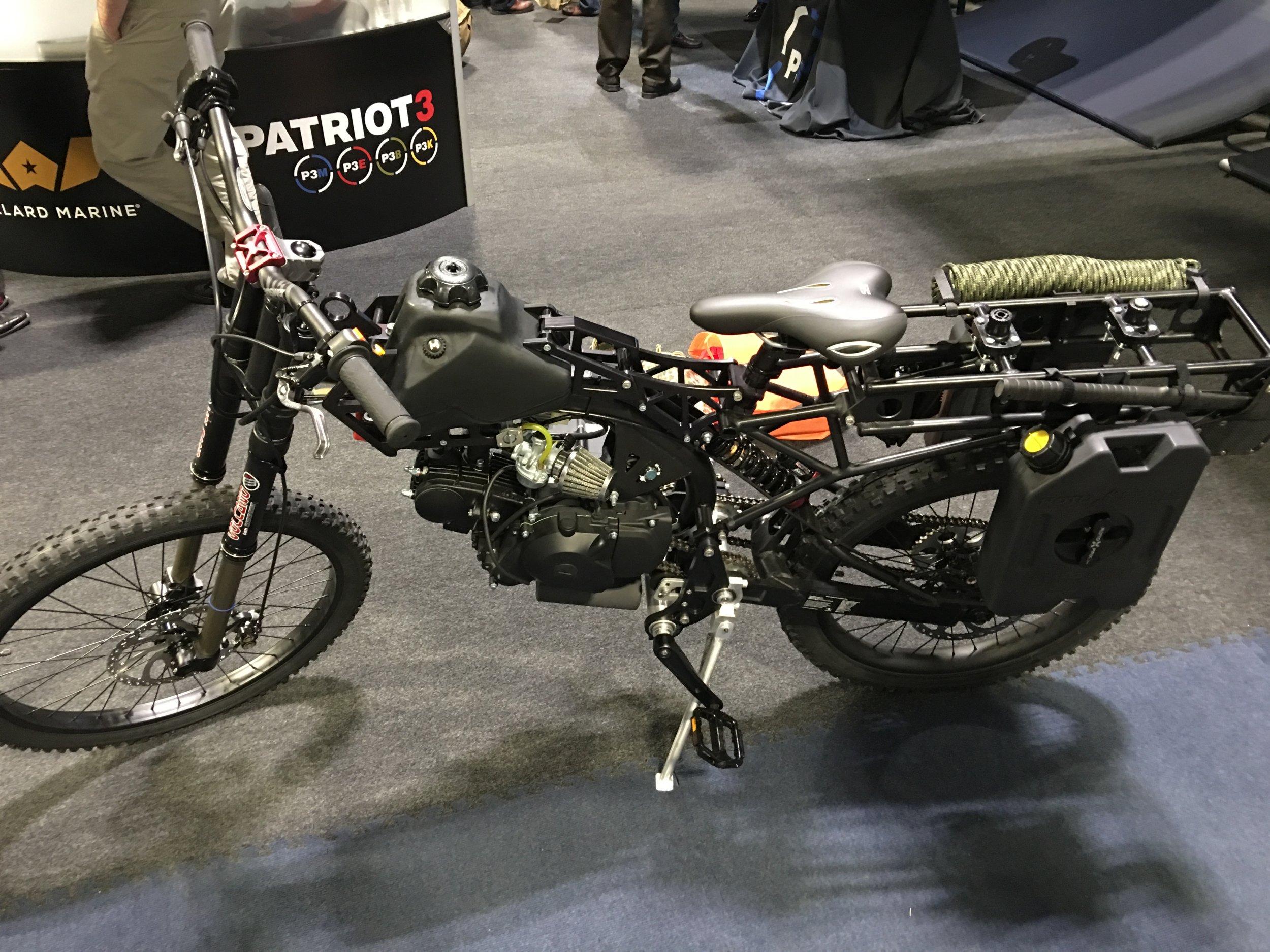 MOTOPED Survival Bike All-Terrain Motorized Military (Combat