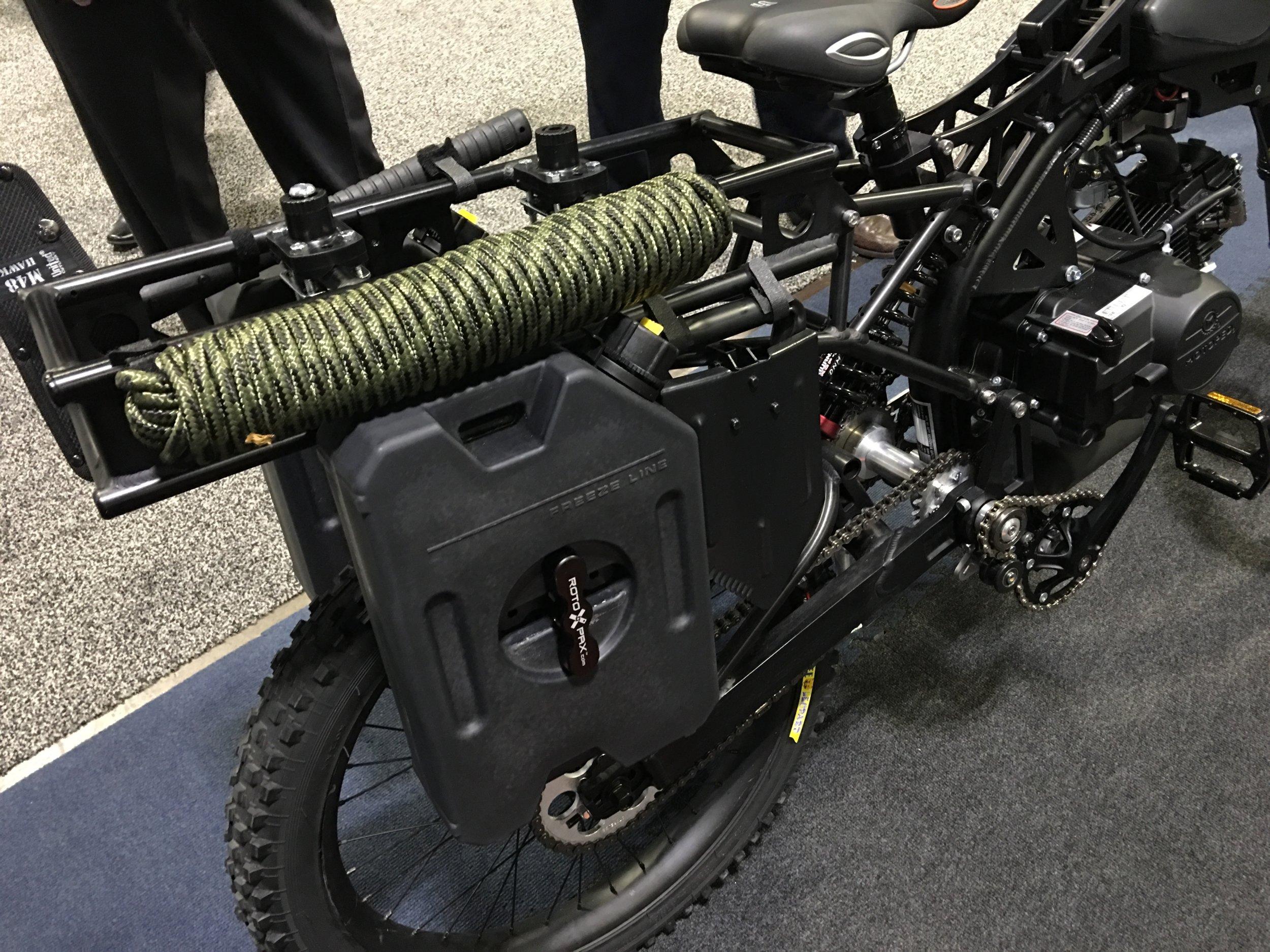 Motoped Survival Bike All Terrain Motorized Military