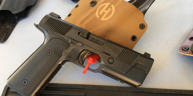 Hudson H9 Low-Bore-Axis Striker-Fired High-Capacity 9mm Combat/Tactical Pistol Debuts at SHOT Show 2017! (Photos and Videos!)