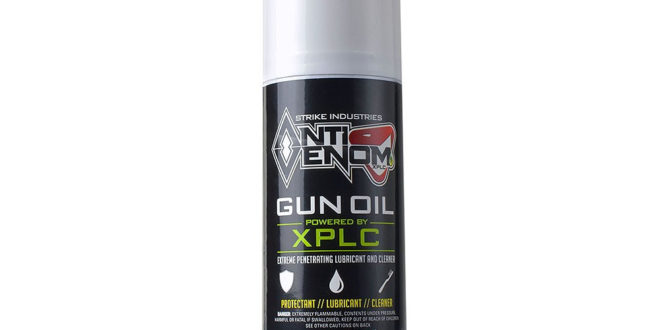 Strike Industries SI AntiVenom-XPLC Gun/Weapons Super Lube (Lubricant): Best All-in-One Gun Lube, Cleaner and Anti-Rust/Corrosion Protectant Ever? It May Just Be…But We'll See.