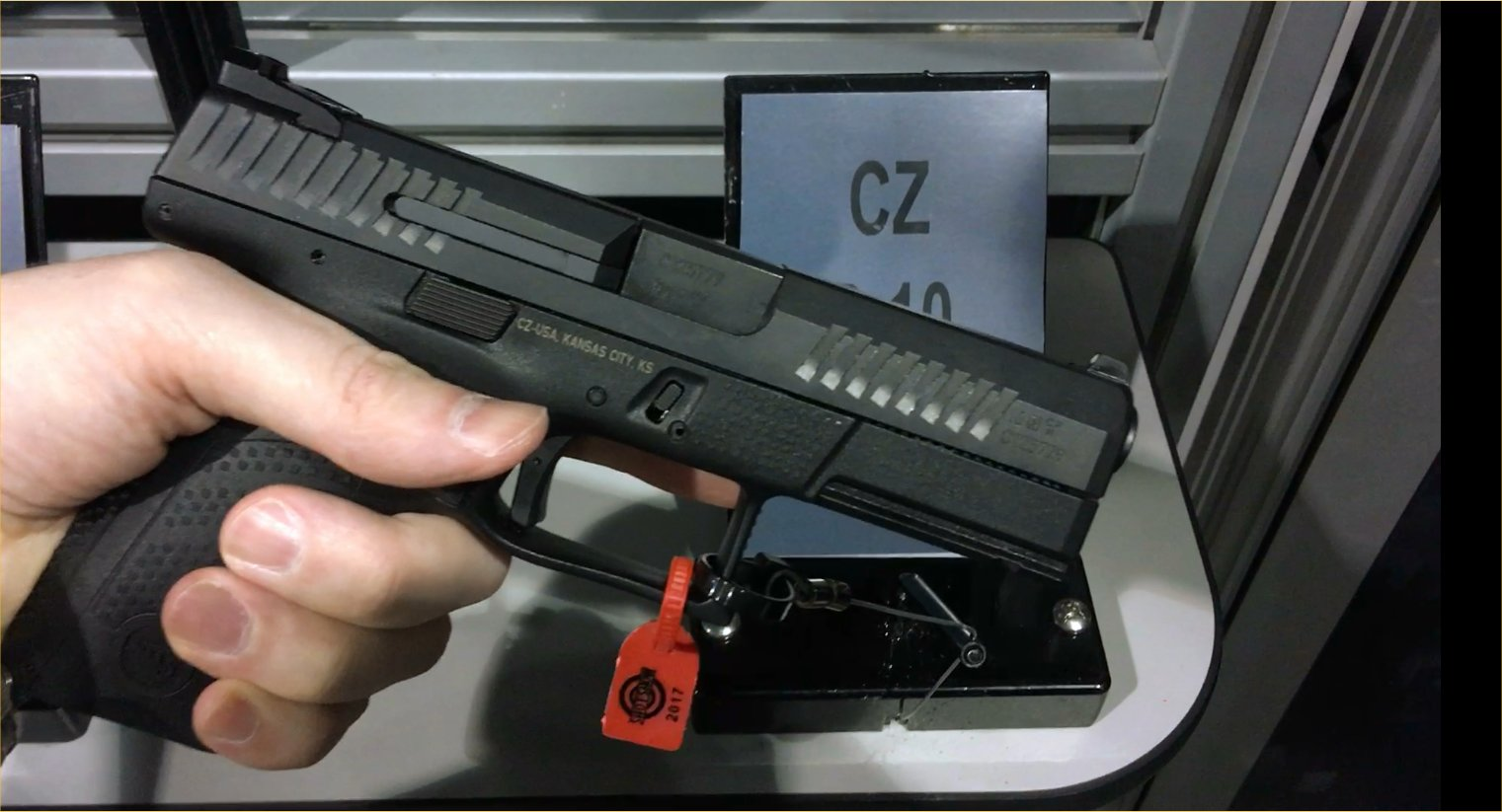 CZ P-10 C Compact Striker-Fired 9mm Combat/Tactical Pistol