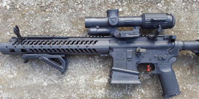 Strike Industries SI Sidewinder BUIS 45-Degree-Offset Flip-Up Back-Up Iron Sights for Tactical AR-15 Carbine/SBR's: Range Report! (Shooting Video!)
