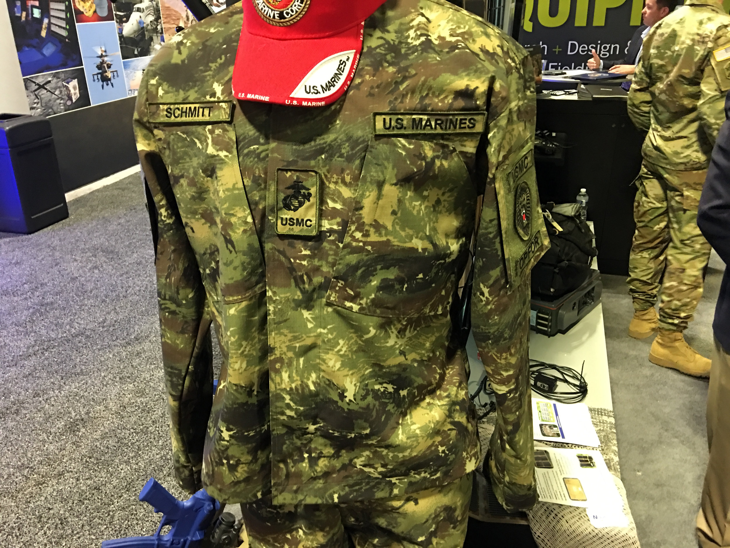 """brand new 88417 9d959 ... (DR) the new USMC OPFOR (United States Marine Corps Opposing Force)  """"swirly"""" (or """"swirling"""") jungle woodland combat camo (camouflage) pattern  ..."""