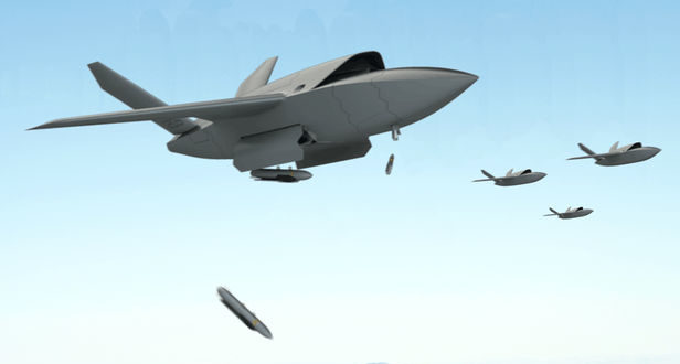 DIUx/Kratos UTAP-22 Mako and XQ-222 Valkyrie Combat UAS/UAV/Drone Aircraft: Developmental Artificially Intelligent (AI)Attack Aircraft Wingmen on Their Way for Future Warfare!