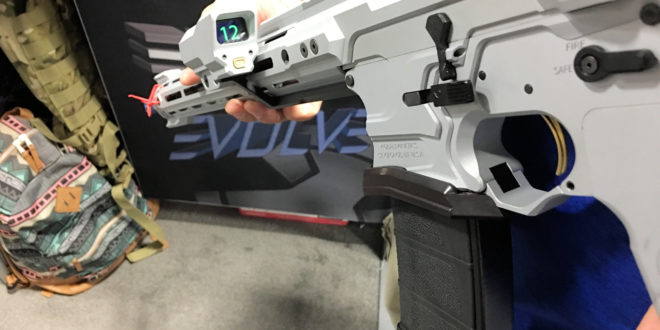 Cobalt Kinetics AR Rifle Round Counter (Shot Counter) on Cobalt Kinetics Evolve 3.0 3-Gun Competition/Tactical AR-15 Rifle/Carbine with Cobalt Advantage Reloading System (CARS)! (Videos!)