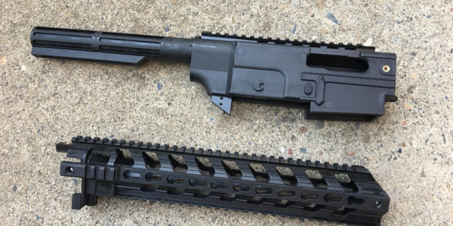 Gungner GR-22 Chassis System for Ruger 10/22 .22LR Rifle/Carbine: Turn Your 10/22 into a Tactical .22LR AR! (VIDEO)