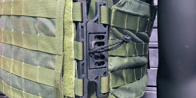 Aspetto Clip Quick-Attach/Quick-Release System for Tactical Armor Plate Carriers: Fast, Secure and Self-Cleaning! (Video!)