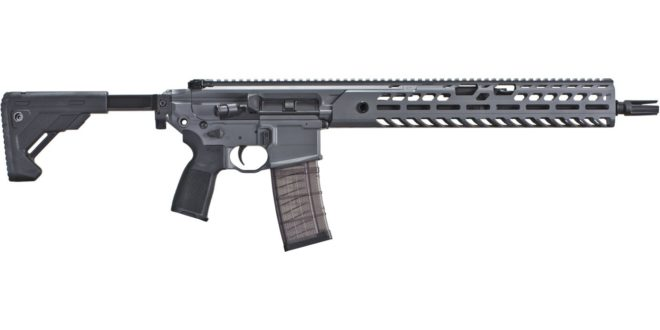SIG MCX VIRTUS Patrol Semi-Auto-Only Tactical AR-15 Carbine May Just Be Important: Time (and Hands-On Testing and Evaluation) Will Tell