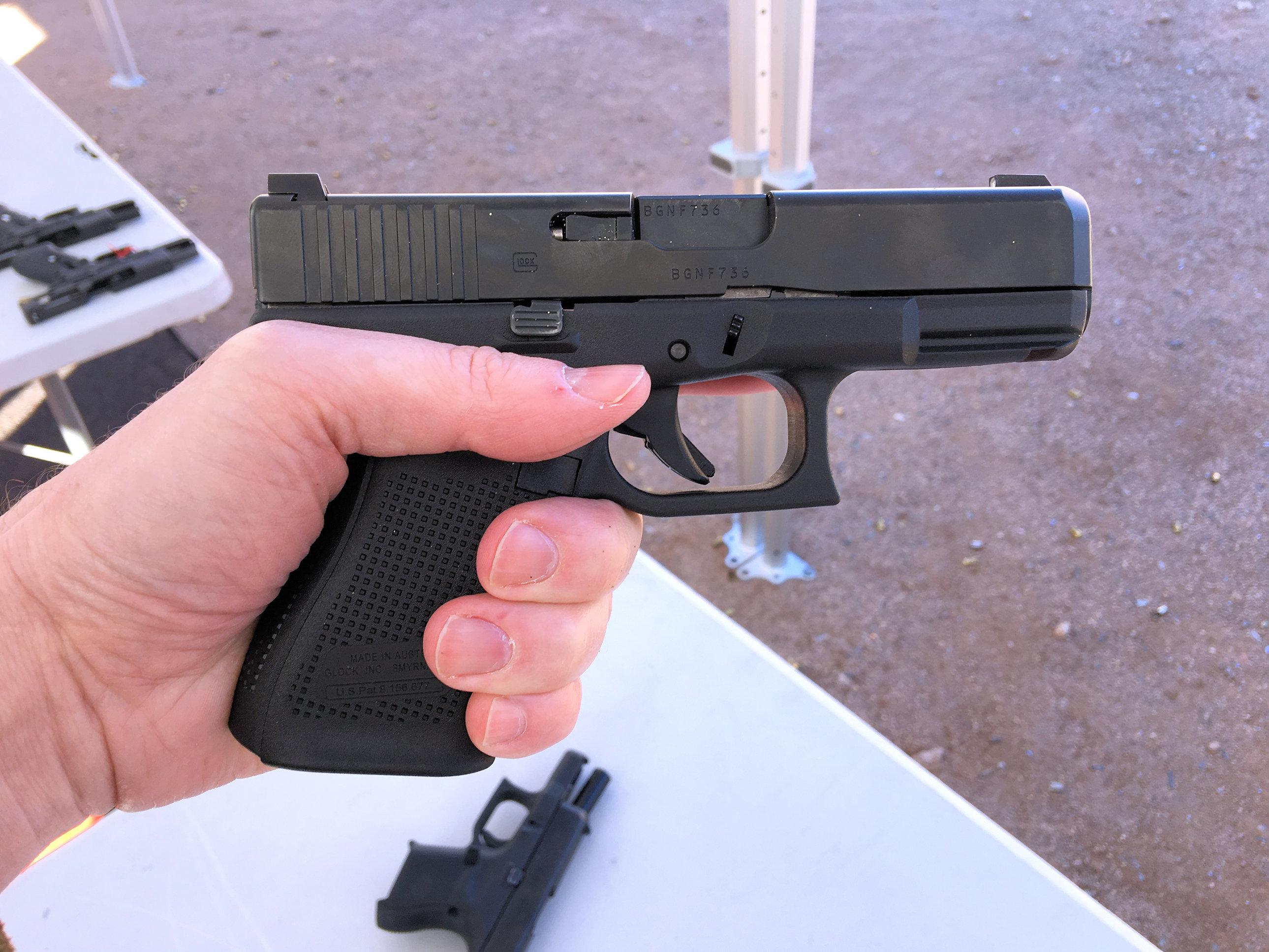 Glock 19X (G19X), Glock 19 (G19) Gen5, Glock 17 (G17) Gen5