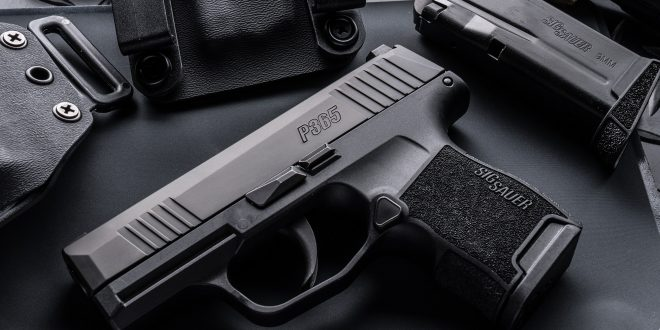 SIG SAUER P365 Striker-Fired High-Capacity Sub-Compact 9mm Pistol for Concealed Carry (CCW): Ready to do battle with the Glock 43 (G43) AND Glock 19 (G19)?
