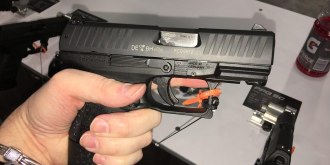 Walther PPQ M2 SC Sub-Compact Striker-Fired 9mm Combat/Tactical Pistol for Concealed Carry (CCW): 16 Rounds Ready to Go with Extended-Basepade Magazine! (Video!)