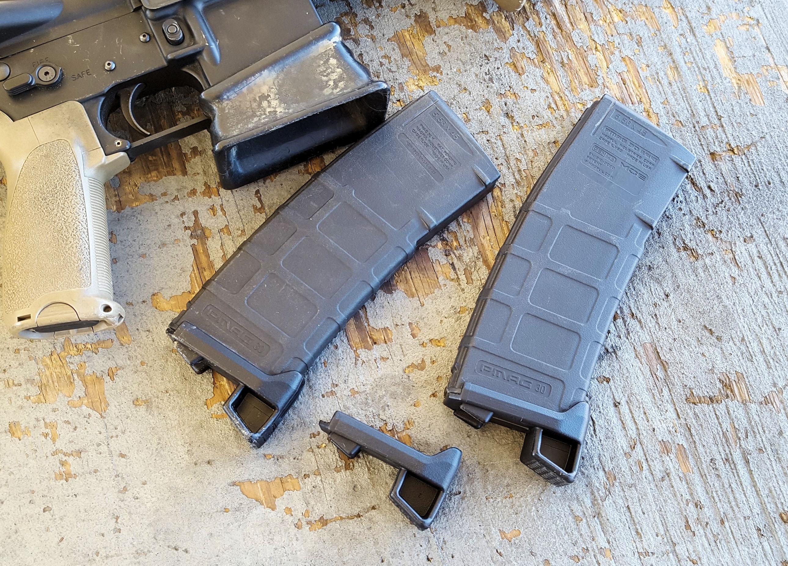 Magpod Pmag Ar 15 Magazine Base Pad S Floorplate