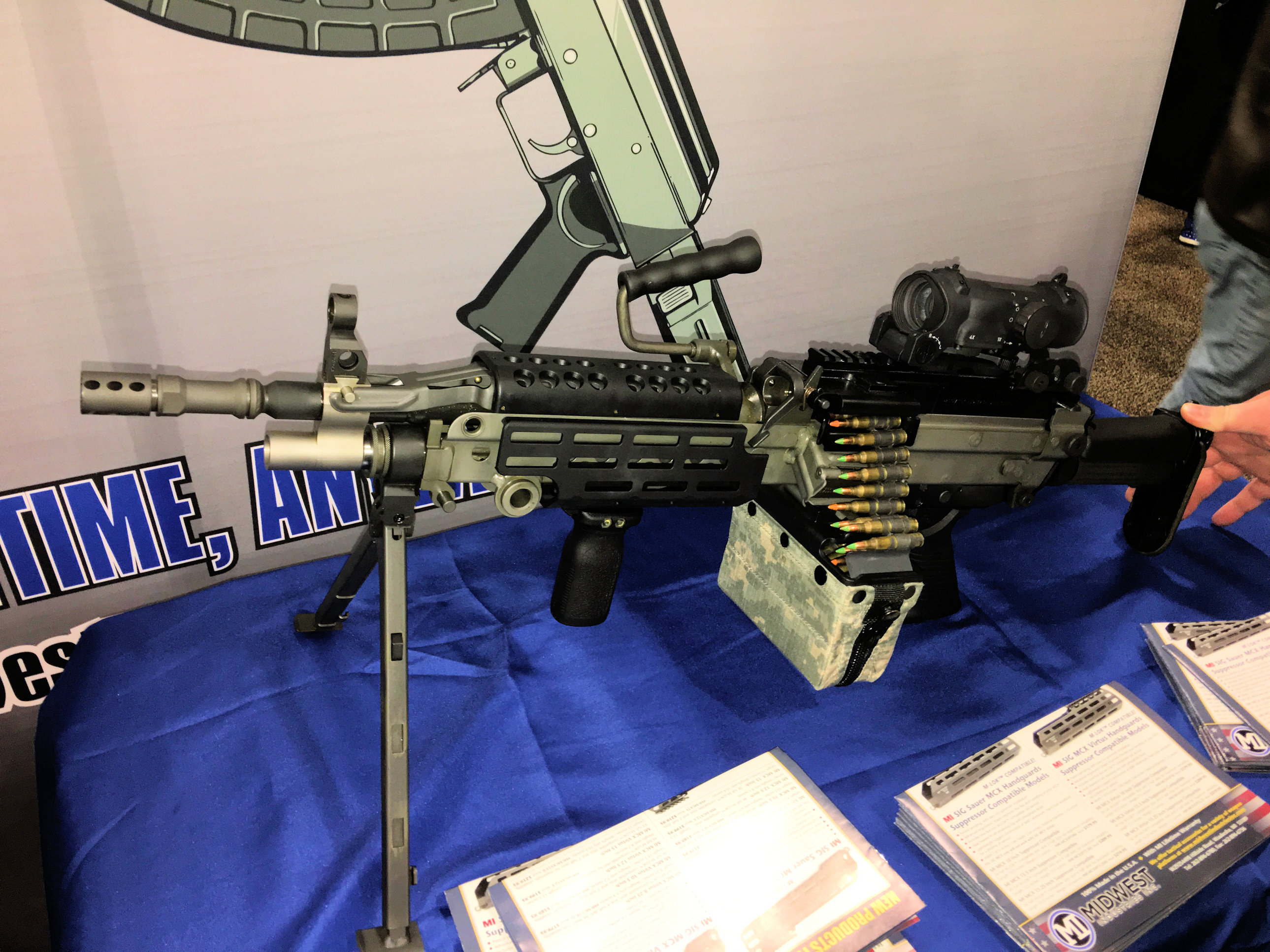 Midwest Industries MI M-LOK Tactical Handguard/Rail System