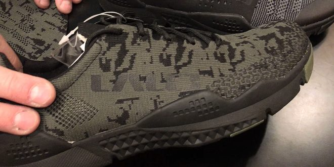 LALO Tactical Prototype Bloodbird and Grinder Sneakers with Digital Combat Camo (Camouflage) Pattern Woven Uppers: A 'Happy Mistake'! (Video!)