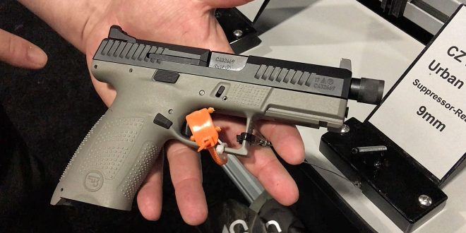 CZ P-10 C Suppressor-Ready Striker-Fired 9mm Compact and Dan Wesson 9mm/.45 ACP/10mm Auto 1911: Suppressor-Ready Combat/Tactical Pistols for Encounters of the Worst Kind (Video!)