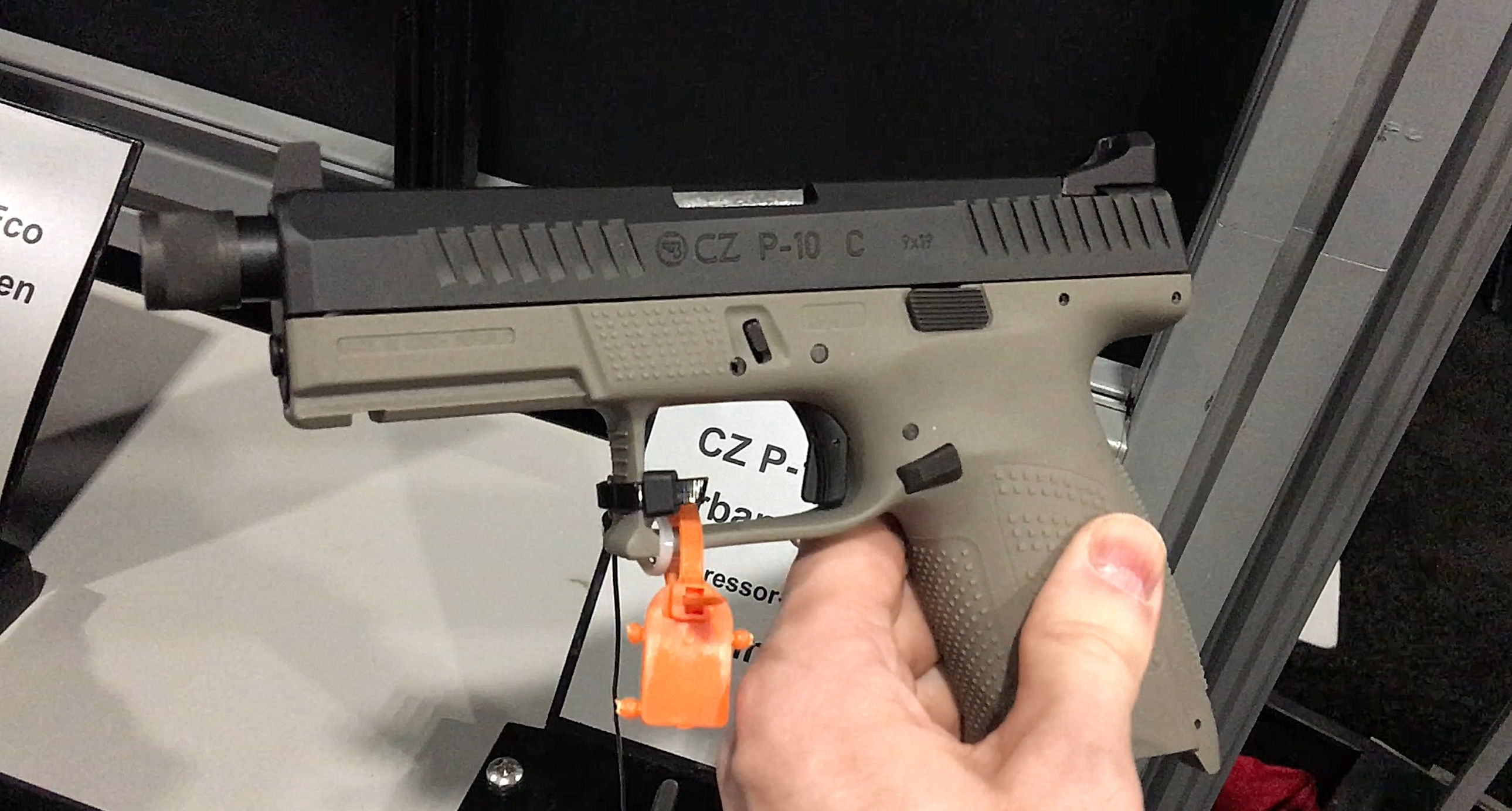 CZ P-10 C Suppressor-Ready Striker-Fired 9mm Compact and Dan