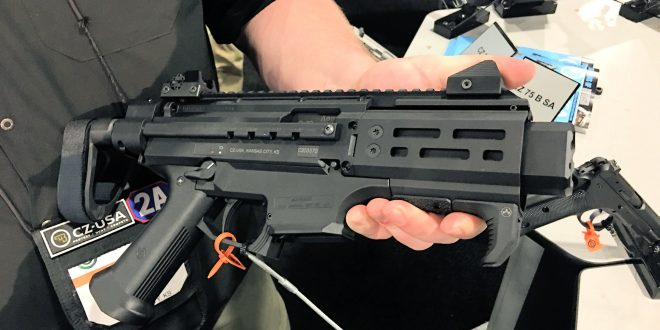CZ Scorpion EVO 3 S2 Pistol Micro with Arm Brace: One Very Cool Little 9mm Pistol Package! (Video!)