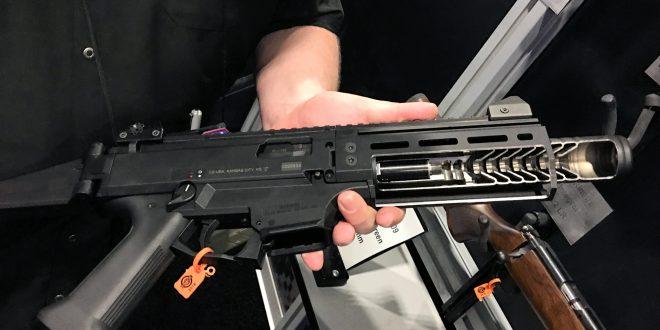 Reflex-Suppressed CZ Scorpion EVO III Micro S2 Reflex 9mm SMG/PDW / Pistol/SBR for Military SOF Dynamic CQB/CQC and Civilian Tactical Home Defense! (Video!)