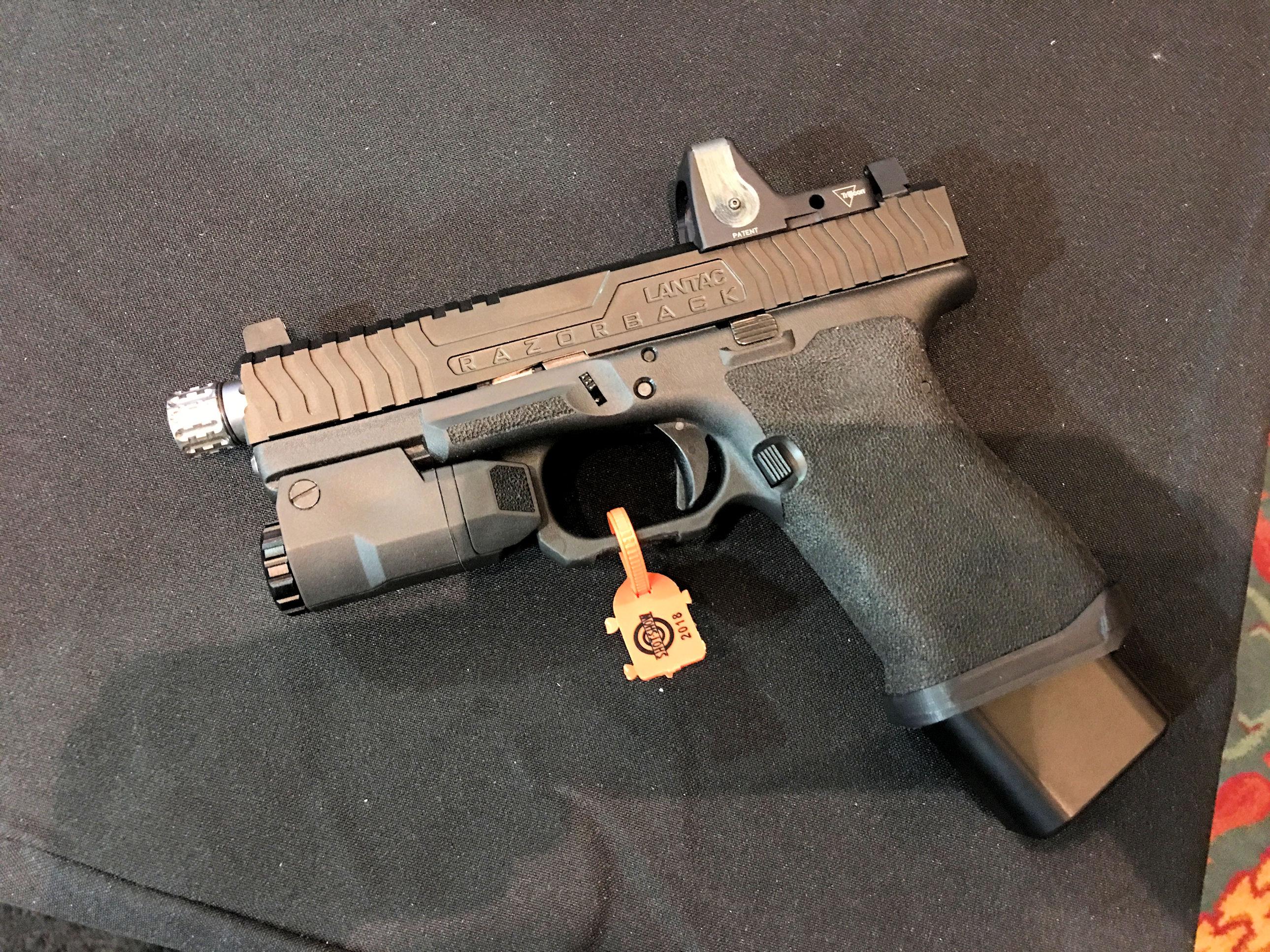Lantac Razorback Complete Custom Glock 17 (G17) and Glock 19