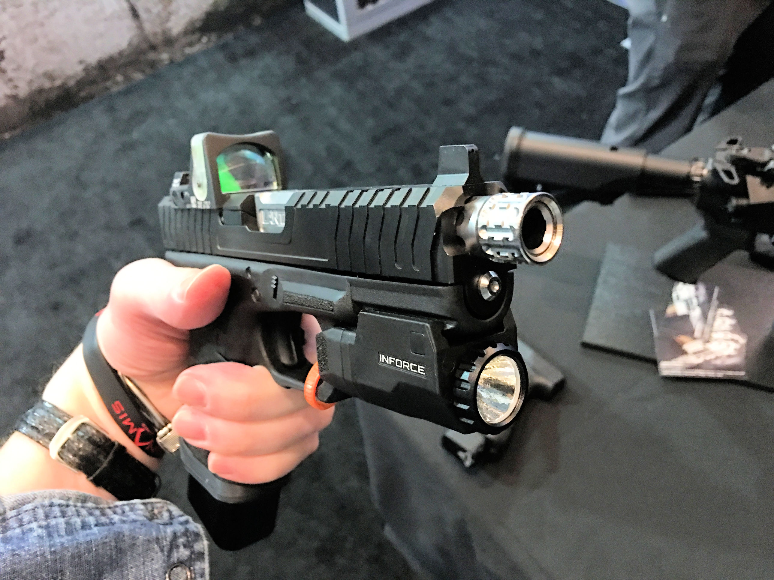 Lantac Razorback Complete Custom Glock 17 (G17) and Glock 19 (G19